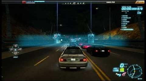 "NFS World - Circuit ""Skyline Avenue"" - Single Player - 34"