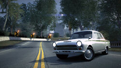 CarRelease Ford Lotus Cortina White