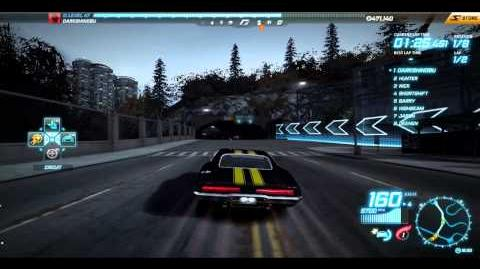 "NFS World - Circuit ""Oil Refinery"" - Single Player - 32"