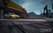 CarRelease Mitsubishi Lancer Evolution VIII Yellow 5
