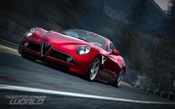 CarRelease Alfa Romeo 8C Competizione Red