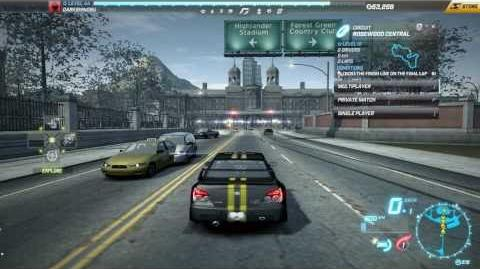"NFS World - Circuit ""Rosewood Central"" - Single Player - 24"