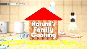 Harumi's family cooking