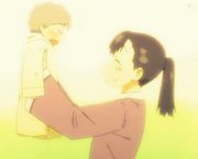 Mio and her mother