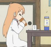 Ep2 hakase eats rollcake