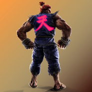 TEKKEN x Street Fighter Akuma
