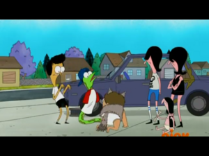 Sanjay Craig and the Dicksons in Wolfie 2