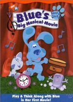 Blue's Clues Blue's Big Musical Movie DVD