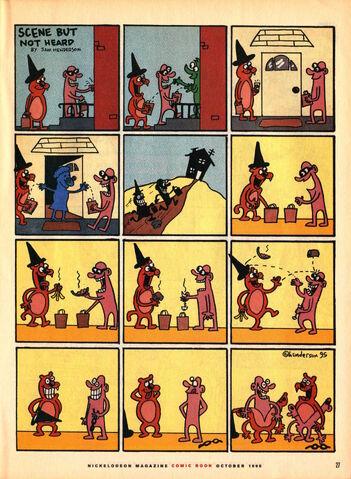 File:Nickelodeon Magazine comic October 1995 Scene but not Heard.jpg