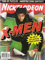 Nickelodeon magazine cover may 2003 x men hugh jackman