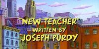 New Teacher