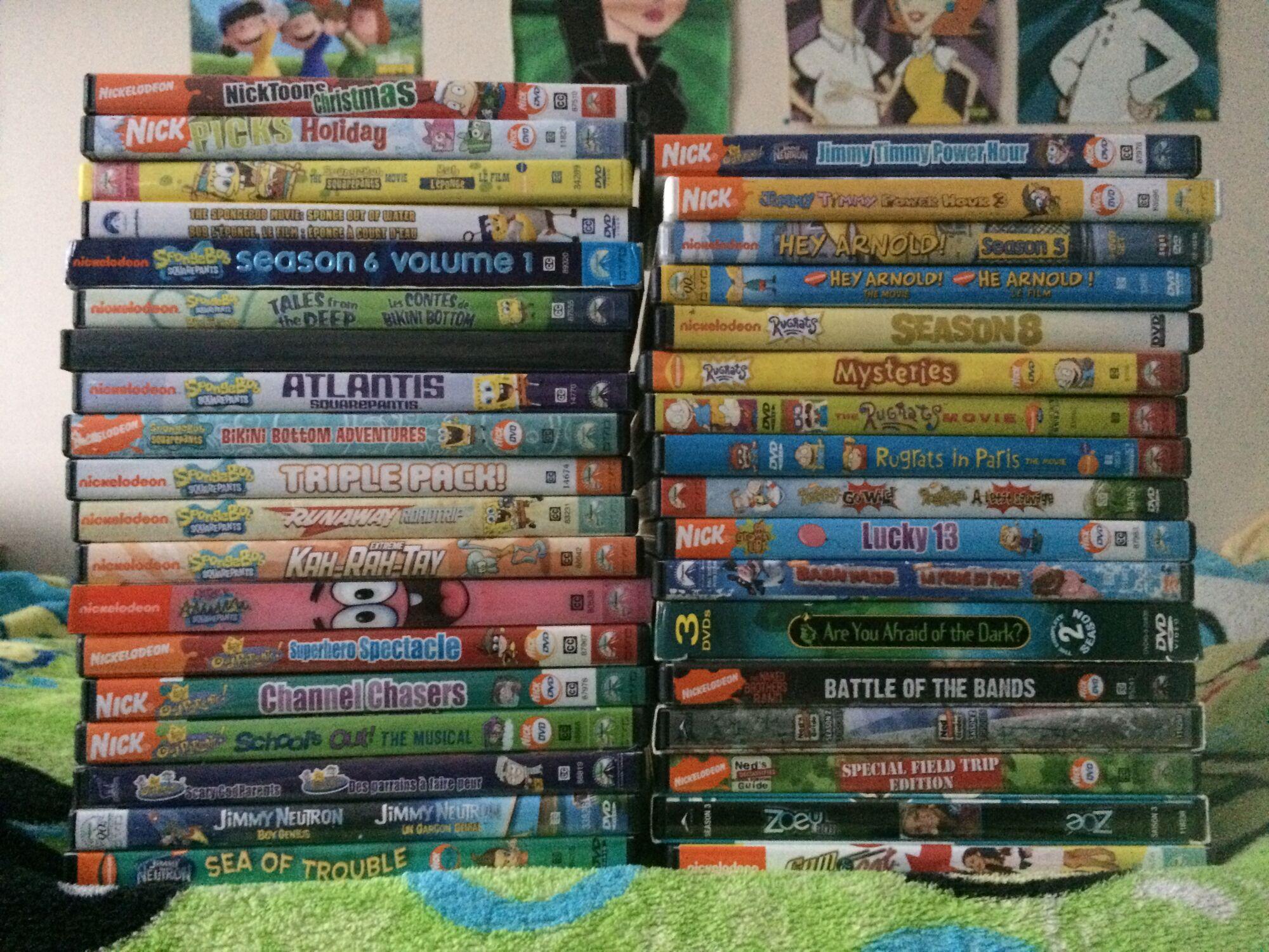 Image Geoff109 Nickelodeon Dvds 2 Jpg Nickelodeon