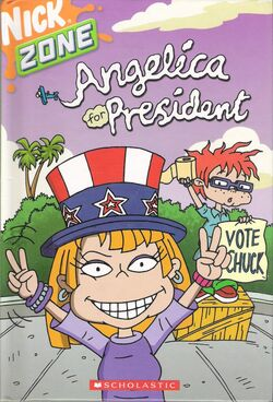 AGU Angelica For President Book