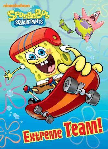 File:SpongeBob Extreme Team! Book.JPG