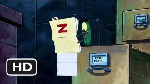 The SpongeBob SquarePants Movie (3 10) Movie CLIP - Plankton's Plan Z (2004) HD