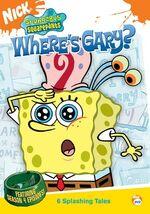SpongeBob DVD - Where's Gary
