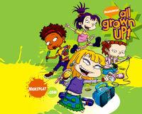 All Grown Up Girls Wallpaper