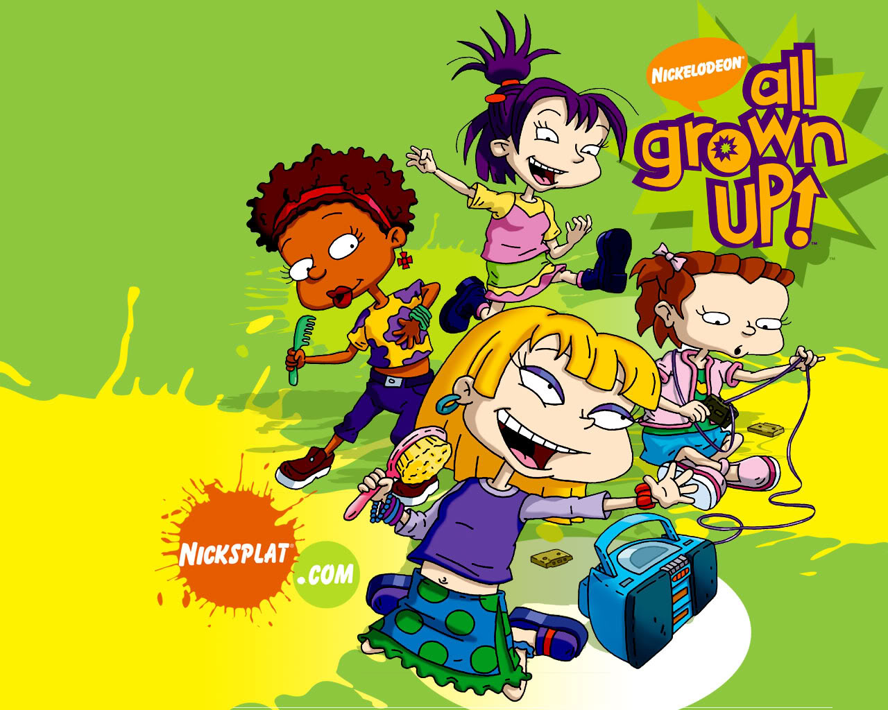 Image All Grown Up Girls Wallpaper Jpg Nickelodeon