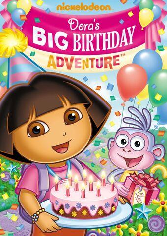 File:Dora the Explorer Dora's Big Birthday Adventure DVD.jpg