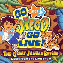 Go Diego Go Live! The Great Jaguar Rescue CD