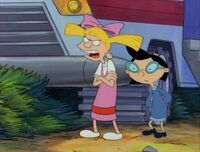 Helga and Phoebe