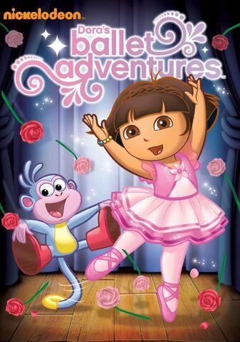 File:Dora the Explorer Dora's Ballet Adventures DVD.jpg