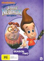 Jimmy Neutron Season Two DVD Australia