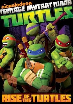 Rise of the Turtles DVD