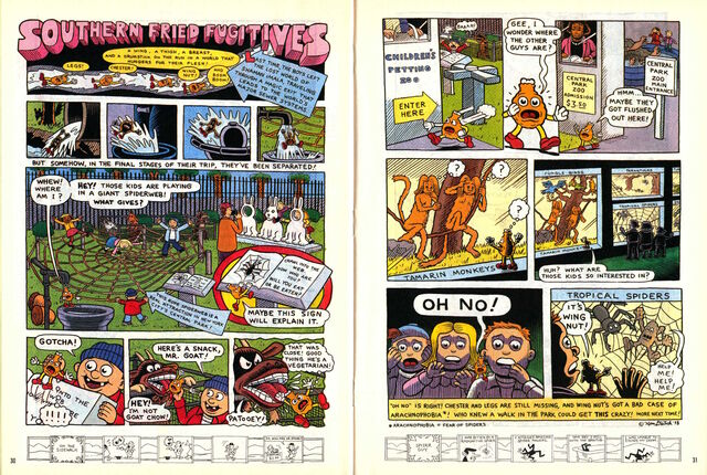 File:Nickelodeon Magazine comic August 1998 Southern Fried Fugitives.jpg
