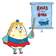 Mrs. Poppy Puff SpongeBob SquarePants TV Series Character
