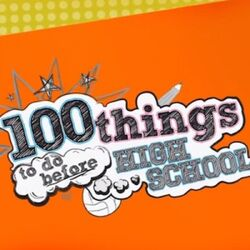 100ThingsBeforeHighSchool