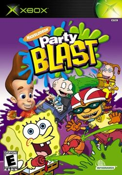 Nickelodeon Party Blast for Xbox