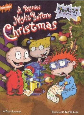 File:A Rugrats Night Before Christmas Book.jpg