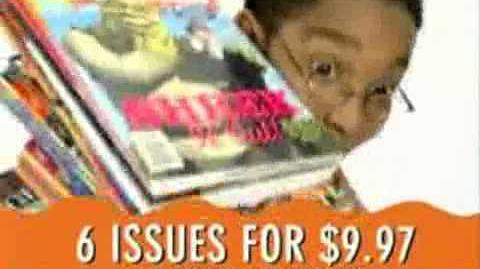 Nickelodeon Magazine commercial (2003-06)