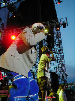 Outkast at Area One, Summer 01