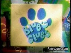 Blues Clues Title Card