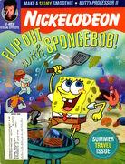 Nickelodeon magazine cover august 2000 spongebob
