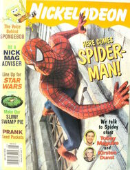 Nickelodeon Magazine cover May 2002 Tobey Maguire Spider-Man