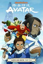 Avatar The Last Airbender North and South Part Two Book