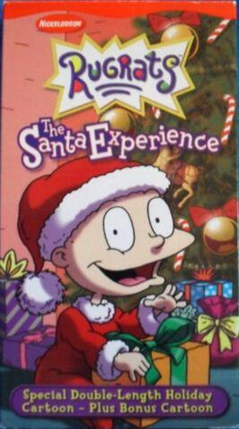File:TheSantaExperience VHS 2000.jpg