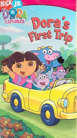 File:Dora the Explorer Dora's First Trip VHS.jpg