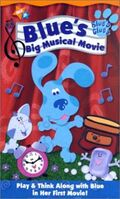 Blue's Clues Blue's Big Musical Movie VHS