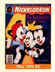 Nickelodeon Magazine cover May 1996 Animaniacs