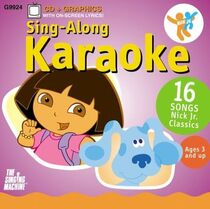 Nick Jr. Sing-Along Karaoke Vol 2 CD