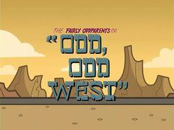 Title-OddOddWest