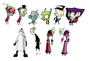 Invader Zim characters