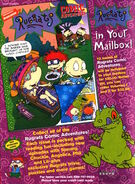 Rugrats Comic Adventures Advertisement from Nickelodeon Magazine December 1998