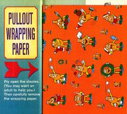 Southern Fried Fugitives comic wrapping paper December 1997