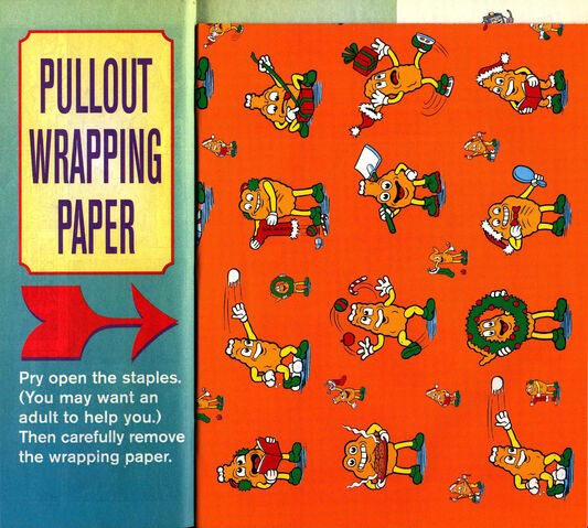 File:Southern Fried Fugitives comic wrapping paper December 1997.jpg