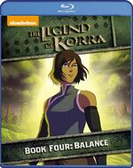 The Legend of Korra Book 4 Blu-Ray